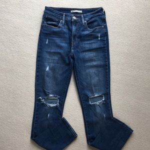 Levi's high rise jeans size 28